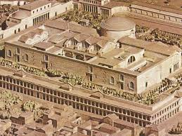 Baths Of Caracalla Floor Plan The Baths Of Caracalla In Rome Italy