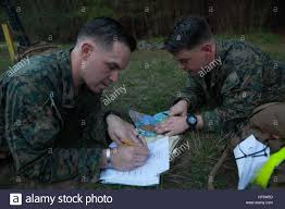 Camp Lejeune Map U S Marines With The Marine Corps Combat Instructor