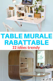 Table Murale Escamotable by Fabriquer Table Murale Pliante Stunning Fabriquer Table Murale
