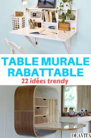 fabriquer table pliante murale impressionnant fabriquer table murale rabattable avec best table