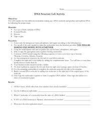 Dna Structure And Replication Worksheet Key Discovering Dna Structure