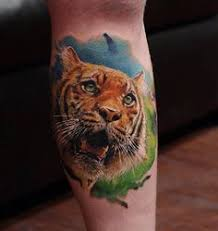 tattoo nusa dua besttattoo2010 leg nusa dua tattoo studio tattoo design tiger