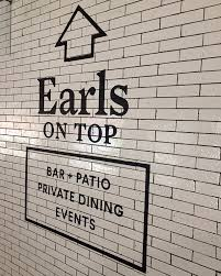 restaurant wall graphics for earl s kitchen creative design graphic design colorado springs graphic design denver sign painter colorado springs sign painter