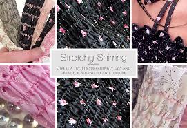 shirring elastic how to do shirring sew4home