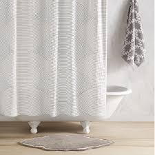 Charcoal Shower Curtain Charcoal Sazid Shower Curtain