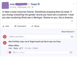 man poses as target on facebook then comically responds to