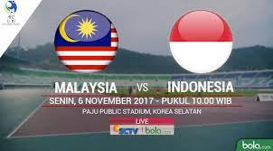 jadwal siaran langsung malaysia vs timnas indonesia u 19 berita