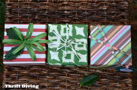 how to make a gift box out of scrapbook paper thrift diving blog