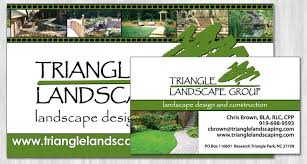 Landscape Business Cards Design Reflective Digital Solutions Graphic Design Graham Nc