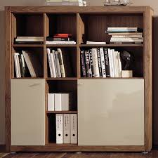 small bookshelves on home office with fiew storage just for book