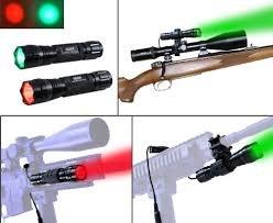 night hunting lights for scopes orion h20 100 yard red or green led coyote hog hunting li https