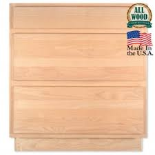 30 Kitchen Cabinet Search Results For Drawer Base 15 Unfinished Alder Kitchen