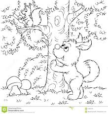 dog and squirrel royalty free stock photo image 14265165