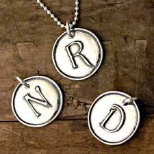 necklaces with initials sterling silver jewelry initial letter charm pendants necklaces