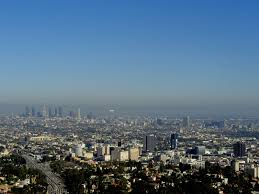 Map Of Los Angeles Metropolitan Area by Map Of Smog Tall Buildings In Los Angeles