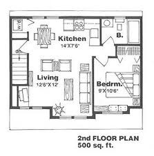 House Plans For 500 Square Feet