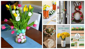 How To Make Home Decor Adorable Easter Home Decorations That Will Make Your Home Festive