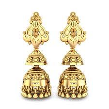 gold ear ring images yellow gold 22k marilyn gold earring candere