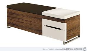 Wood Bench With Storage 15 Storage Bench Designs For The Bedroom Home Design Lover