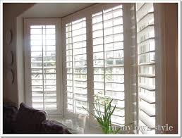 Plantation Shutters And Drapes What I Am Loving Now Bare Windows In My Own Style