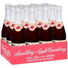 bulk sparkling cider martinelli s gold medal 8 4 oz sparkling cider 100 juice 6 ct