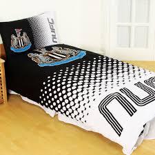 Man Utd Duvet Newcastle United Fc Duvet Set Fd Single Quilt Cover U0026 Pillow Case