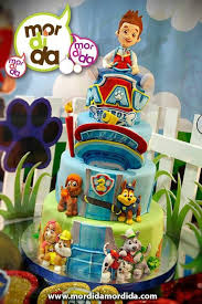image result cake paw patrol lookout paw patrol party