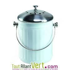 compost cuisine poubelle à compost blanc anti odeur pour cuisine 4 litres achat