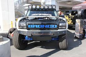 sema 2017 one bad bronco makes it to battle of the builders top 12