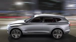 hyundai luxury suv hyundai genesis gv80 luxury suv revealed at ny auto