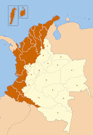 Colombian Map File Afrocolombian Map Png Wikimedia Commons