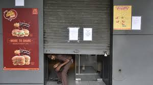 43 of 55 mcdonald u0027s outlets in delhi shut due to health license