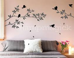 Wood Branches Home Decor Tree Branch Decal Etsy
