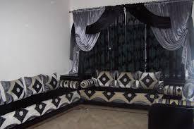 tissu pour canapé marocain salon marocain bahja tissus de luxe salon maroc déco