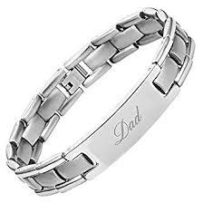 best size bracelet images Dad titanium bracelet engraved best dad ever size jpg