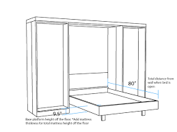 full size murphy bed cabinet library dimensions murphy beds portland attractive bed 11 prepare
