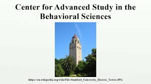 center for advanced study in the behavioral sciences youtube