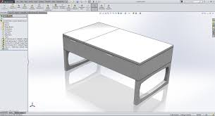 Solidworks Home Design Cadtek U0027s Home Built Coffee Table Cadtek Systems