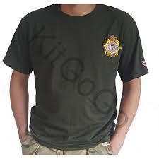 British Flag Shirts T Shirt With Embroidery Trf U0026 British Flag Military Green