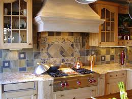 small kitchen design and decoration using diagonal travertine