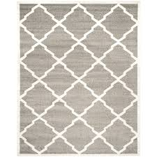 Gray Moroccan Rug Shop Safavieh Amherst Lowell Dark Gray Beige Rectangular Indoor