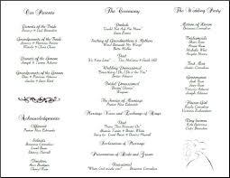 Catholic Wedding Booklet Template Catholic Wedding Template