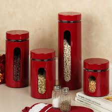 tuscan kitchen canisters sets kitchen palladian red window kitchen canister sets with kitchen