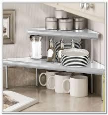kitchen counter organizer ideas beste kitchen countertop shelves pleasurable counter charming
