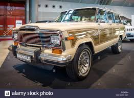 classic jeep wagoneer stuttgart germany march 17 2016 full size suv jeep wagoneer