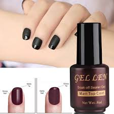 amazon com gellen matte top coat for gel nail polish beauty