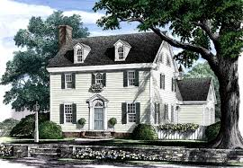 colonial home plans plan 32441wp appealing colonial home plan house plans home and