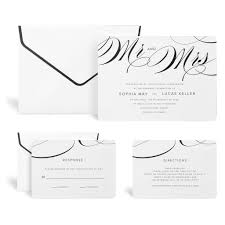 wedding invitation kits buy the mr mrs wedding invitation kit by celebrate it at