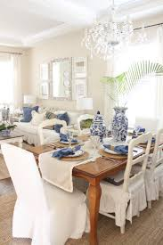 Beach Dining Room Sets by Blue And White Table Setting Starfish Cottage