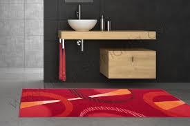 tappeto moderno rosso tappeti bagno moderni tappeto bagno rosso bianco antisdrucciolo